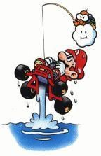 A collection of official artwork images from Super Mario Kart on the SNES including the main characters like Mario, Luigi, Bowser, Toad, Yoshi and Princess Toadstool and their karts. Super Mario Kart, Super Mario Brothers, Super Nintendo, Mario Bros., Mario Party, Mario And Luigi, Vintage Video Games, Retro Video Games, Video Game Art