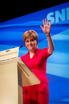 Nicola Sturgeon First Minister SNP