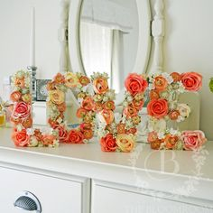 Hey, I found this really awesome Etsy listing at https://www.etsy.com/listing/293341063/flower-letters-silk-flowers-handmade                                                                                                                                                     More