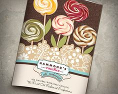 Hammond's Candies Catalog by Amanda Cordsen, via Behance