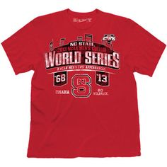 Celebrate the Wolfpack Baseball Team making its 2nd Appearance in the College World Series with this 100% cotton T-Shirt by Retro Brand(r). Features: Rib knit collar Screen print graphics Machine washable 100% Cotton Officially licensed ***This T-Shirt will be available in our retail store and ship out on Thursday June 13th****