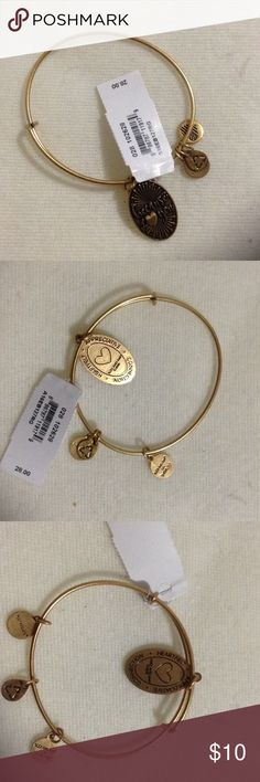 Alex and Ani Because i love you gold bracelet alex and ani gold bracelet because i love you appreciative, heartfelt, connection Alex & Ani Jewelry Bracelets