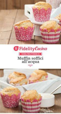 Muffin soffici all'acqua