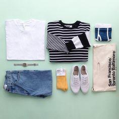 Unisex cotton essentials.