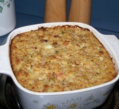 Traditional Cornbread Dressing is a simple, old-fashioned recipe for Thanksgiving dinner and other special meals. More from my siteSouthern Cornbread Dressing – Recipes Timmy Time, Thanksgiving Sides, Thanksgiving Treats, Thanksgiving Stuffing, Southern Thanksgiving Recipes, Pasta, Southern Recipes, Southern Food, Food Dishes