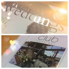 Club Rose Bay in Real Weddings Magazine Rose Bay, Latest Issue, Real Weddings, Magazine, Club, Magazines