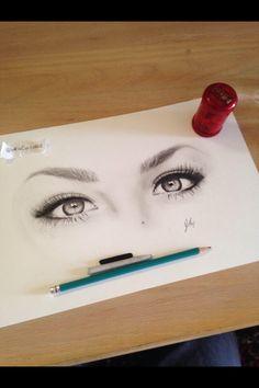 Andrea Russett's eyes