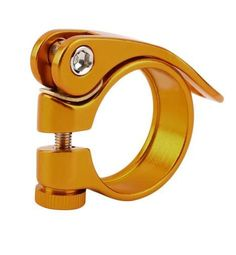 Hot Rabid Seat Post Clamp Quick Release Aluminium for Bike Bicycle 34.9mm free shipping