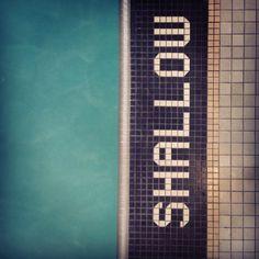 shallow | salt water pool