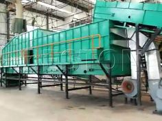 Your goal is to separate municipal waste and make money from it. So this winnowing machine mainly processes materials exceeding 50 mm. Therefore, it separates heavy materials, waste plastic, and the less heavy materials. To achieve that, it uses a fan.
