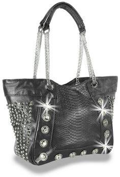 Crystal Rhinestone Black Fashion Bling Handbag Purse Sparklebags
