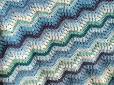 6-Day Kid Blanket By Betty McKnit - Free Crochet Pattern - (ravelry)