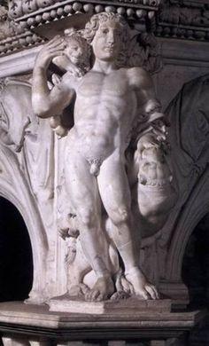 Nicola Pisano, detail preekstoel doopkapel te Pisa, Fortitude, H 56 Romanesque Art, Romanesque Architecture, Nicola Pisano, Greek Art, Italian Art, Medieval Art, Religious Art, Middle Ages, Art History