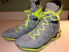 Men's Under Armour Charge BB Hi-Top Basketball Sneakers Size 13 EUC #UnderArmour…