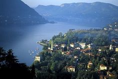 Lake Como, outside of Milan