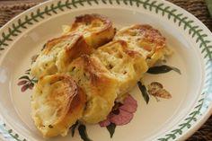 Rotolo di pasta fresca con zucchine