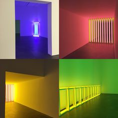 #DanFlavin at the David Zwirner Gallery in New York City