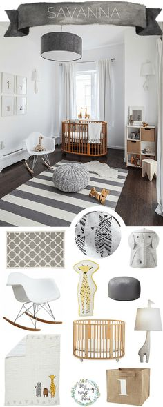Savannah Dreaming! This Savannah Baby Nursery Theme is perfect for gender neutral and you can always add extra girl or boy items when you find out the gender. Animals, Safari, Modern, Giraffe and Zebras. Sewmanywayskimi