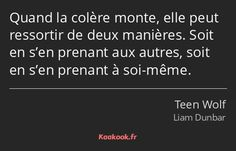 Citations Teen Wolf, Citations Film, Mood Quotes, True Quotes, Teen Wolf Quotes, Sad Texts, Emotional Songs, Poems Beautiful, French Quotes