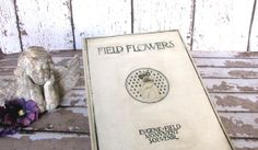 Book  Poetry Illustrated Antique Field Flowers by AllieEtCie,