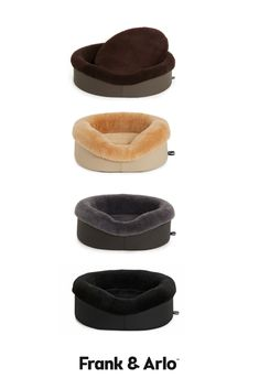 Which colour dog bed would you choose? Dogs spend 14 hours a day just snoozing. We feel like one of the ways to show them that we care is to make sure that they are sleeping well since they spend so much time doing it 😴  All our dog beds are made of the finest materials and are fully washable. The Merino Wool cuff is detachable so it can be washed. Run the vacuum over it once and it's good at new.   www.frankandarlo.com.au Designer Dog Beds, Sheep Wool, Memory Foam, Merino Wool, Your Pet, Colour, Luxury, Dogs, Color