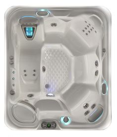 Viking Hot Tubs Makes You Feel Relax : Highlife 2014 Sovereign Ice Gray Overhead Viking Hot Tubs