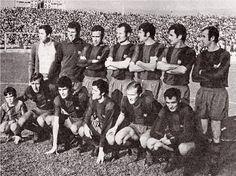 Equipos de fútbol: BARCELONA contra C. D. Málaga 13/12/1970
