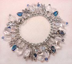 HP Craftalong ~Summer Semester 2012~ Charms Class: Snow Bracelet for Krafty_Karasu
