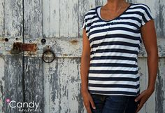 DIY: everyday tee (free pattern) from: http://icandyhandmade.blogspot.com.br/2012/09/tutorial-and-pattern-everyday-basics-2.html