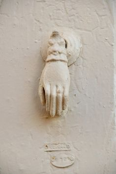 these door knockers are common in Old Nicosia