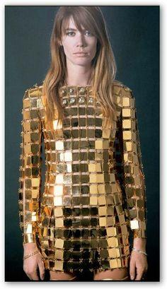 Collection Schneider par Amaury Poudray Vestidos Vintage Retro, Retro Vintage Dresses, Mode Vintage, 1960s Dresses, 1960s Fashion, Look Fashion, Vintage Fashion, Space Fashion, Fashion Glamour