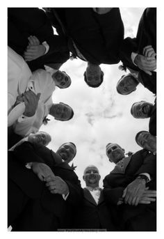 Groomsmen from low angle May Weddings, Unique Weddings, Wedding Poses, Wedding Ideas, Wedding Stuff, Lake Michigan Wedding, Different Points Of View, Event Photographer, Wedding Images