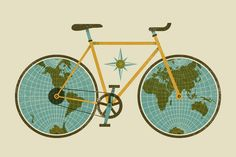 Jude Landry iPhone iPhone 5 iPad Everyone I know loves bikes, especially sweet bicycle illustrations. Today's wallpaper from Jude Landry is particula. Wallpaper Iphone5, Bicycle Wallpaper, Iphone Wallpapers, Iphone Backgrounds, Iphone Wallpaper Vintage Retro, Iphone Wallpaper Travel, Aztec Wallpaper, Unique Wallpaper, Kawaii Wallpaper