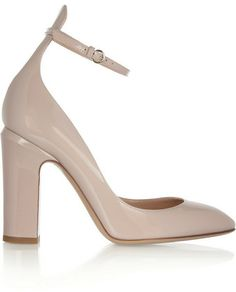 Valentino Patent-leather pumps on shopstyle.com