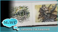 10 Things I've Learned – 30x30 Direct Watercolor Challenge. Plus Paintin...