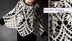 poncho unique crochet