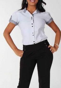 Uniformes para empresas, moda corporativa. Spa Uniform, Blue Lace, Amelia, Girl Power, Blouse, Women, Fashion, Work Uniforms, Workwear