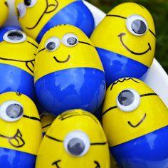 decorar huevos de pascua minions gru