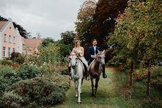 Bohemian Fairytale Dream Wedding with Horses