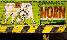 back of an indian truck - Google Search