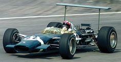 1968 GP Wielkiej Brytanii (Brands Hatch) Lotus 49B - Ford (Jo Siffert)