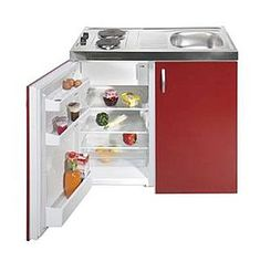complete compact kitchen from avanti | tiny fridge, compact