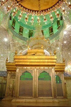 Shrine of Imam Hussain A.