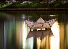 Origami glass Boat by David Fielding on 500px