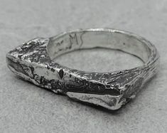 Designer Silver Jewellery, Silver Jewelry, Mens Jewellery, Silver Rings, Unique Jewelry, Engagement Ring For Him, Alternative Engagement Rings, Ring Ding Dong, Unusual Rings