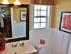 Adding Board and Batten to Beautify a Bathroom