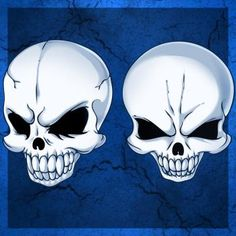 How to Draw Skull Heads