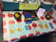 Easter doubling/halving numicon maths activity