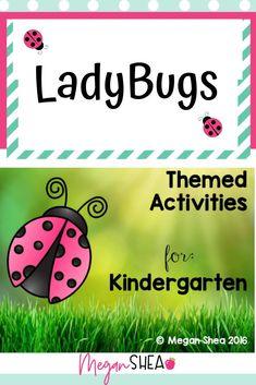 Ladybug Activities for Kindergarten First Grade Activities, Teaching First Grade, First Grade Teachers, Kindergarten Classroom, Kindergarten Activities, Writing Activities, Classroom Activities, Science Resources, Classroom Ideas