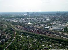 The city of Mannheim (Germany) from above